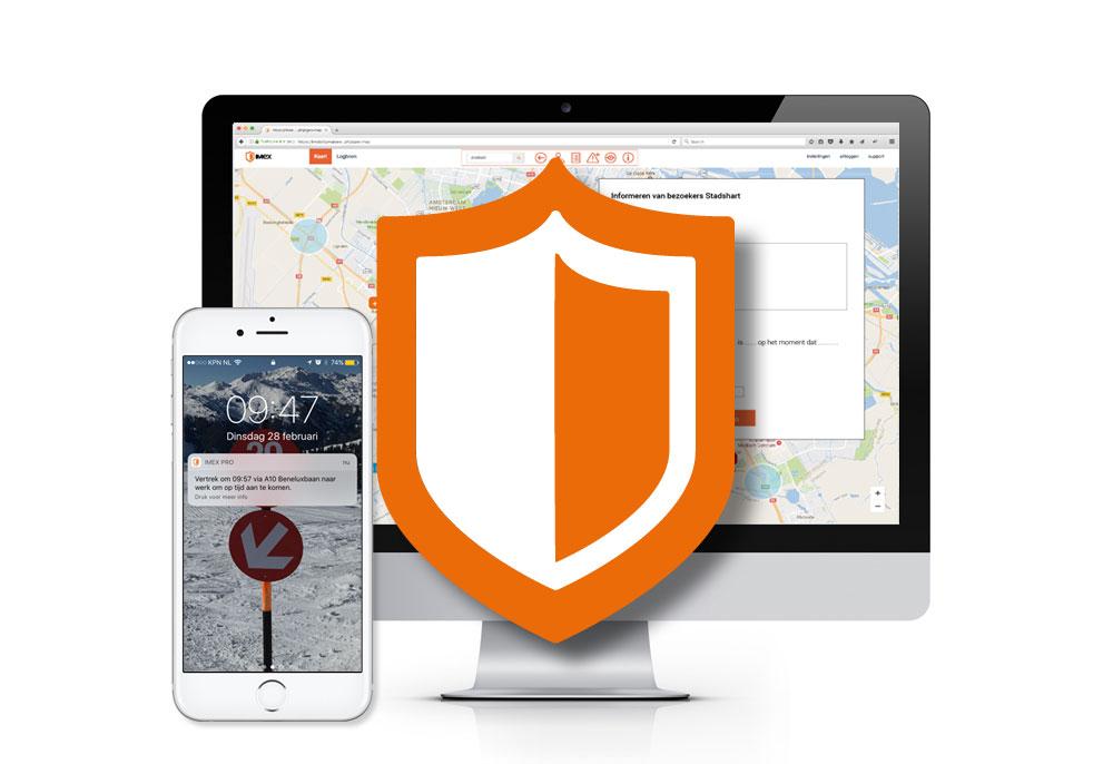 ITC is goed beveiligd en uw privacy blijft gewaarborgd