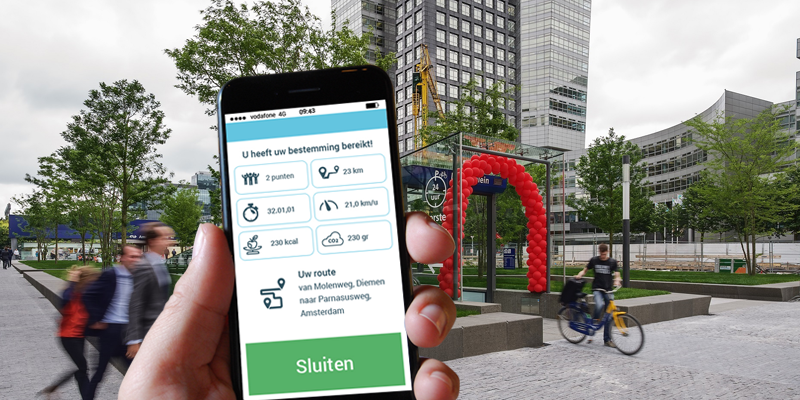 TrafficLink fietsprogramma en spitsmijden