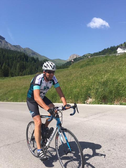 Deelnemer van tijdens Dolomites4Life